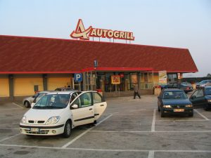 Autogrill restaurant- Italy from the Inside