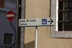 Casa di cura sign- Italy from the Inside