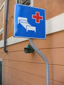 Hospital sign- Italy from the Inside