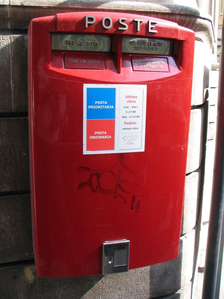 Italian mailbox- Italy from the Inside