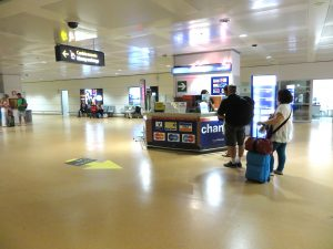 Currency exchange at the Venice Airport- Italy from the Inside