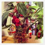 My Christmas tree from years ago…