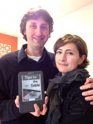 Our first Kindle ebook: Tips from the Table