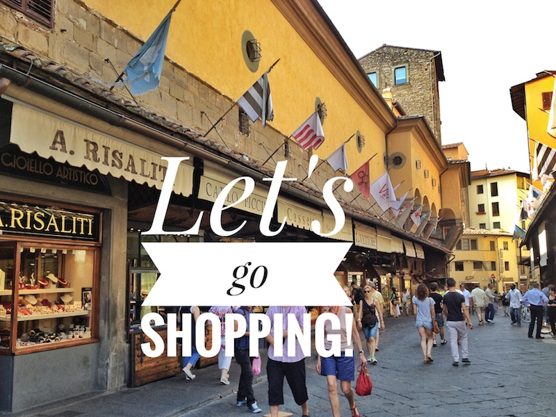 Shopping in Italy- Italy from the Inside