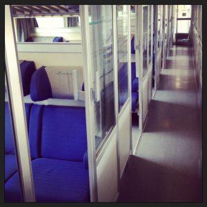 Inside an Italian train- Italy from the Inside
