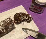 Angela's chocolate salami