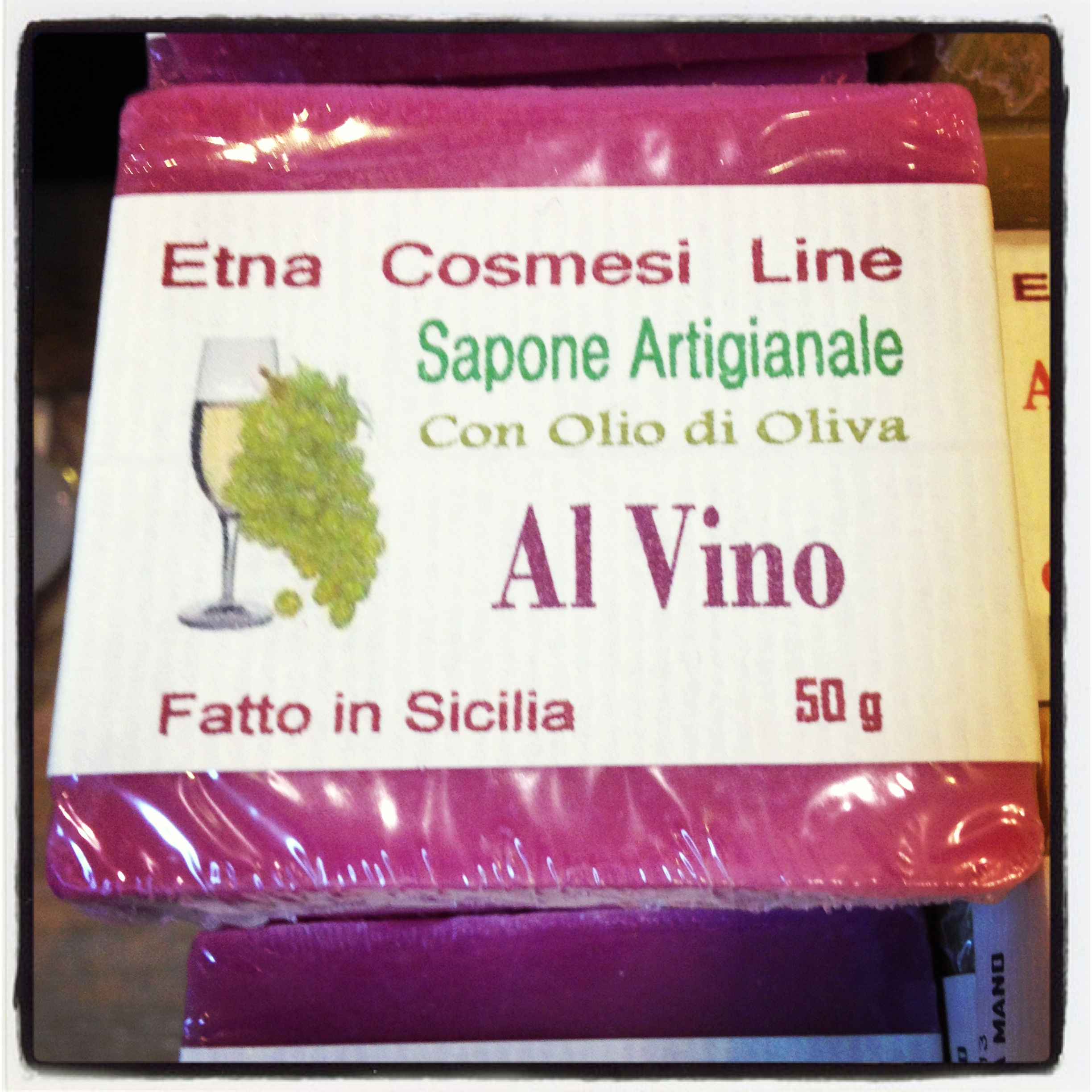Sapone al vino- Italy from the Inside