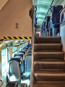 Treno due piani- Italy from the Inside