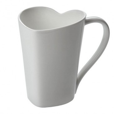 Heart mug by Alessi
